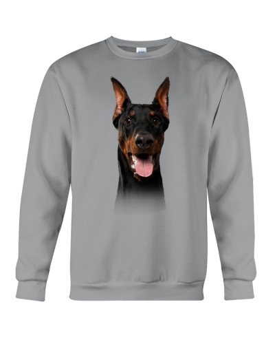 Doberman-Dog Face