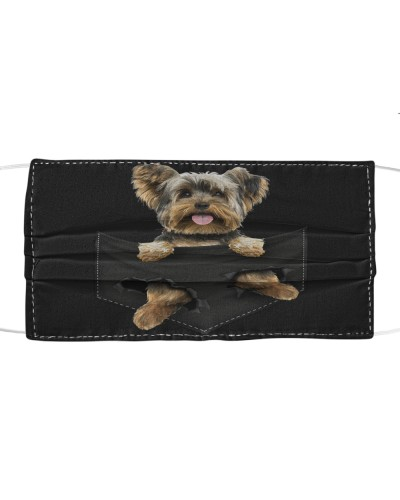 Yorkshire Terrier-Face Mask-Pocket