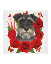 Miniature Schnauzer-Face Mask-Rose Cloth face mask aos-face-mask-coverlet-lifestyle-front-02