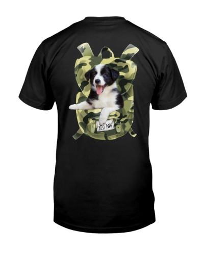 Border Collie-Camo-Backpack