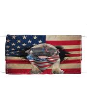English Mastiff-US Mask Cloth face mask front
