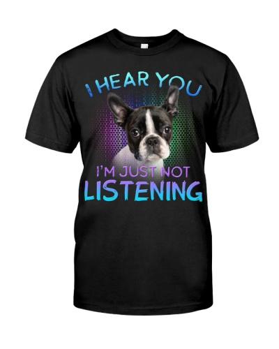Boston Terrier-I Hear You