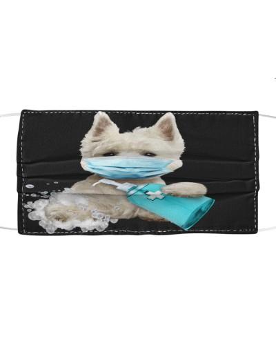 West Highland White Terrier-Face Mask-Wash