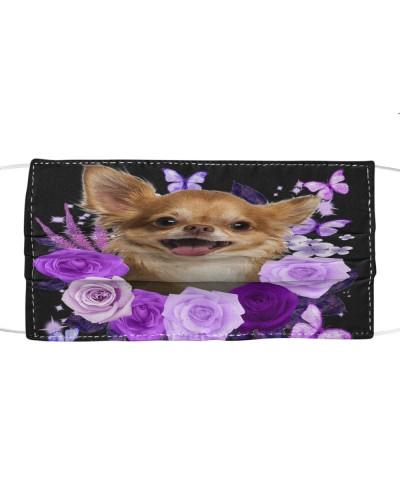 Chihuahua-02-Face Mask-Purple