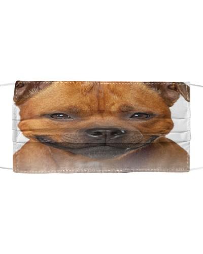 Staffordshire Bull Terrier-Face Mask