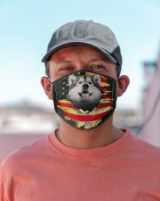 Alaskan Malamute-Mask USA  Cloth face mask aos-face-mask-lifestyle-06