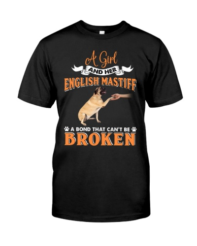 English Mastiff - A Girl