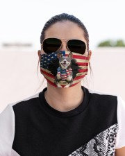 Australian Kelpie-US Mask Cloth face mask aos-face-mask-lifestyle-02