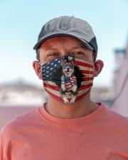 Australian Kelpie-US Mask Cloth face mask aos-face-mask-lifestyle-06