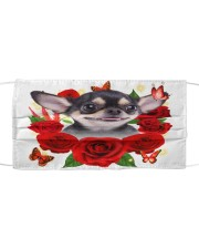 Chihuahua-Face Mask-Rose Cloth face mask front