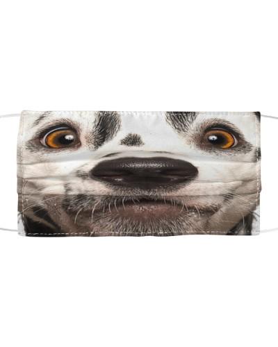 Dalmatian-Face Mask