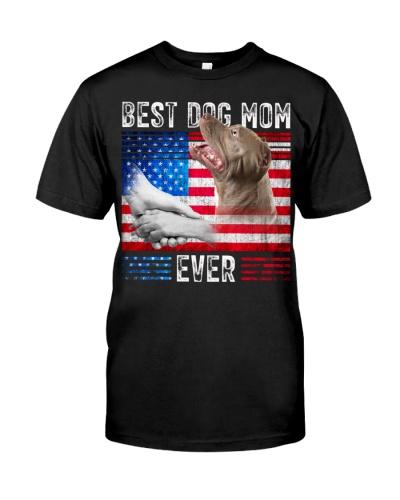 Pitbull-Dog Mom Ever