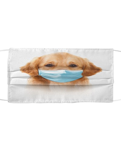 Golden Retriever-Face Mask-Mask