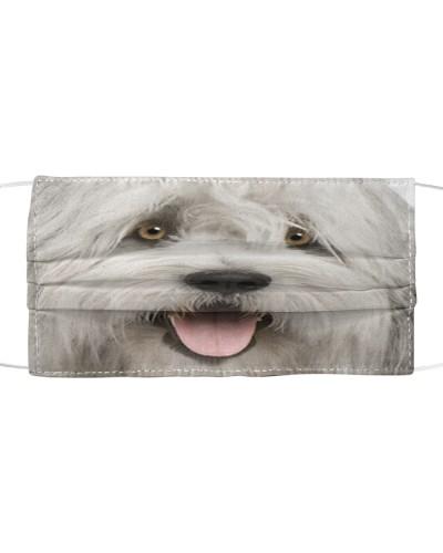 Old English Sheepdog-Face Mask