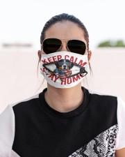 Bernese Mountain-US-Keep Calm Cloth face mask aos-face-mask-lifestyle-02