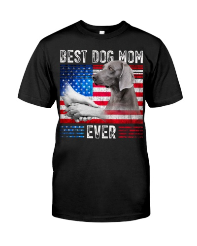 Weimaraner-Dog Mom Ever
