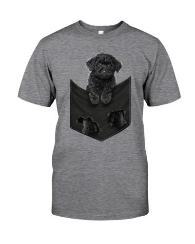 Poodle-Black - Pocket-Mid