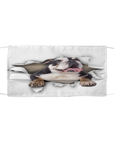 English Bulldog-02-Face Mask-Torn02