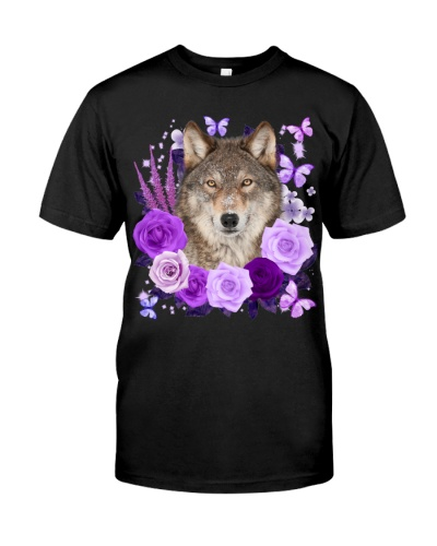 Wolf-Purple Flower
