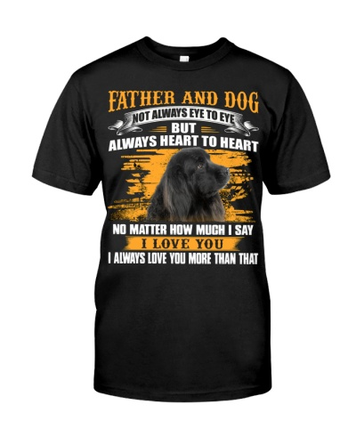 Newfoundland-Father And Dog