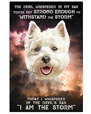 West Highland White Terrier - Storm 24x36 Poster front