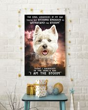 West Highland White Terrier - Storm 24x36 Poster lifestyle-holiday-poster-3
