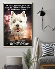 West Highland White Terrier - Storm 24x36 Poster lifestyle-poster-1