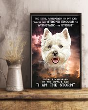 West Highland White Terrier - Storm 24x36 Poster lifestyle-poster-3