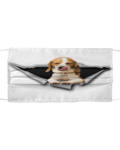 Beagle-Face Mask-Torn