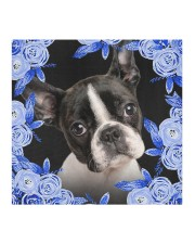 Boston Terrier-Blue Mask Cloth face mask aos-face-mask-coverlet-lifestyle-front-02