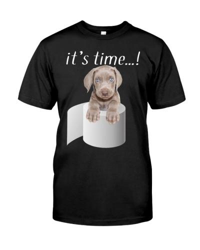Weimaraner-It's Time