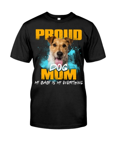Wire Fox Terrier-Proud Dog Mom