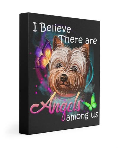 Yorkshire Terrier-Art-Canvas Angels