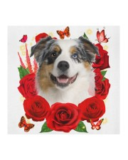Australian Shepherd-02-Face Mask-Rose Cloth face mask aos-face-mask-coverlet-lifestyle-front-02