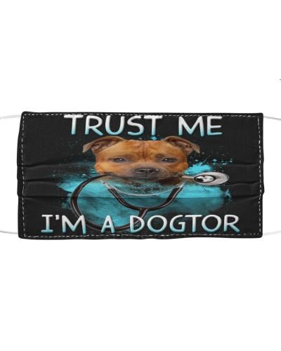 Staffordshire Bull Terrier-Face Mask-Dogtor