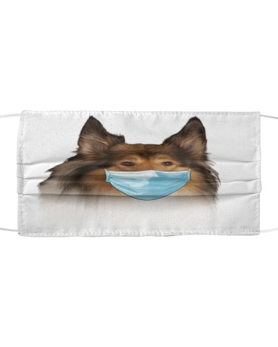 Rough Collie-Face Mask-Mask