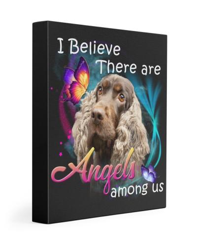 English Cocker Spaniel-02-Canvas Angels