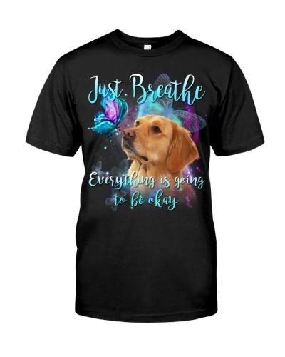 Golden Retriever-Just Breathe