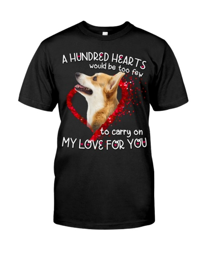 Welsh Corgi-Hundred Hearts
