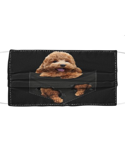 Poodle-Face Mask-Pocket