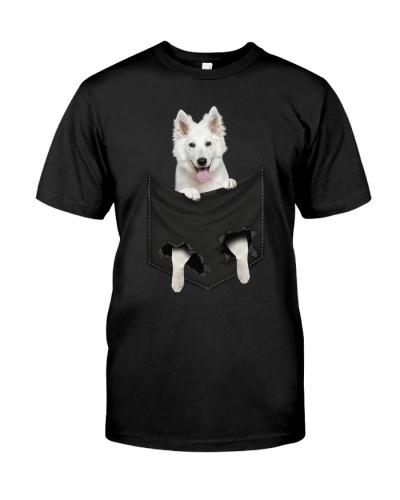 German Shepherd-White - Pocket-Mid