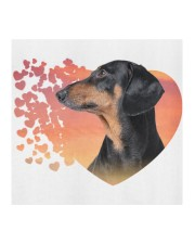 Dachshund-My Life-Mask Cloth face mask aos-face-mask-coverlet-lifestyle-front-02