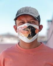 Dachshund-My Life-Mask Cloth face mask aos-face-mask-lifestyle-06