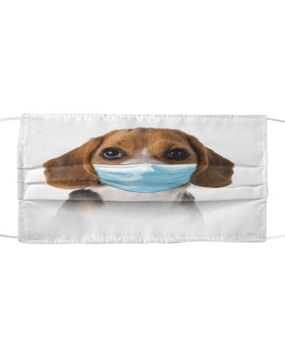 Beagle-Face Mask-Mask