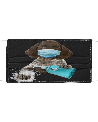 German Shorthaired Pointer-Face Mask-Wash