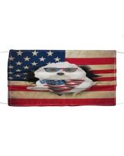Coton De Tulear-US Mask Cloth face mask front