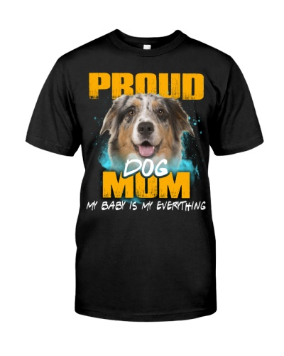 Australian Shepherd-Proud Dog Mom