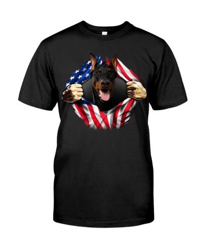 Doberman-Dog Flag