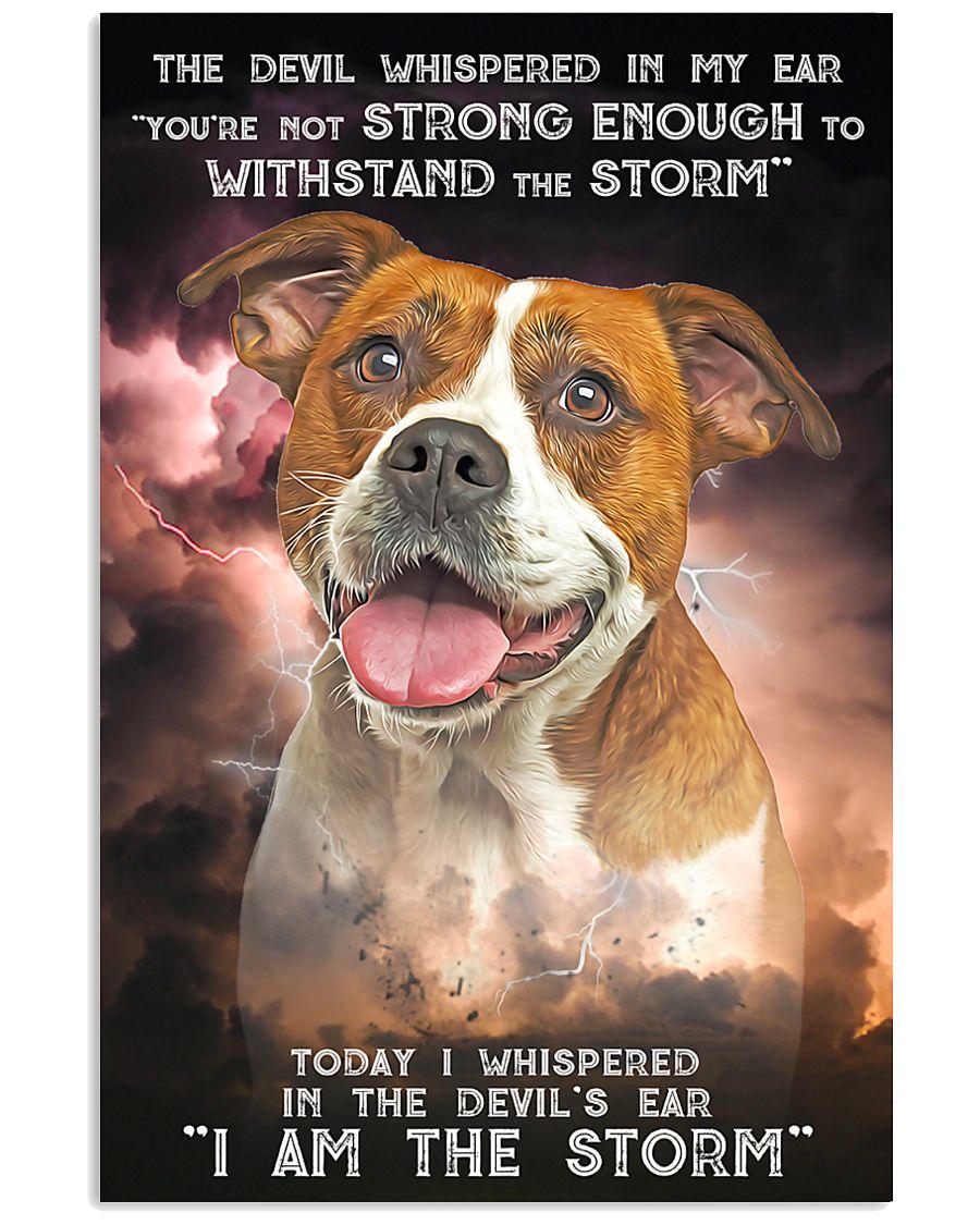 American Bulldog-02 - Storm 24x36 Poster