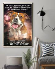 American Bulldog-02 - Storm 24x36 Poster lifestyle-poster-1